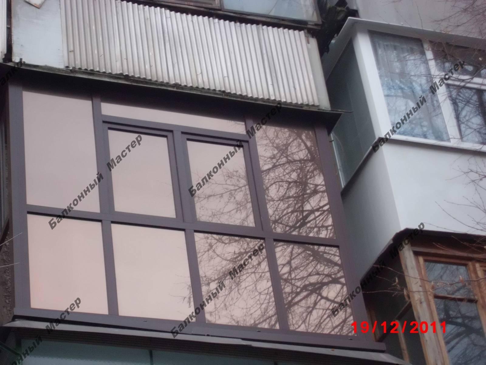 Фото к объявлению: балкон под ключ, остекление и утепление л.